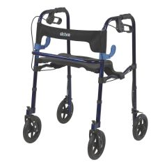 Drive Clever-Lite Rollator Walker with Seat & Loop Locks