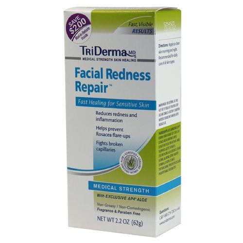 TriDerma Facial Redness Repair Cream - 2.2 oz tube Model 068 5111