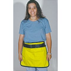 "AliMed Mini Aprons Small., 12""W x 10""L, Yellow"