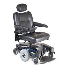Invacare Pronto M51 Power Wheelchair - Semi-Recline 20x18 Blue