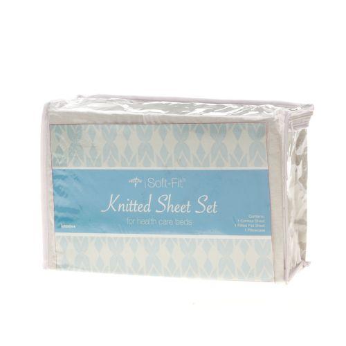 Medline Soft-Fit Knitted Dealer Pack Sheet Set Model 141 574388 01