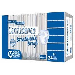 "Attends Confidence Super Absorbent Briefs - Large 44"" - 58"""