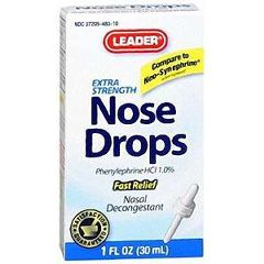 Cardinal Health Leader Extra Strength Nose Drops