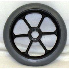 "6 Spoke Composite Molded On Wheel - 6 x 1"""
