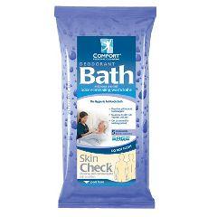 Deodorant Comfort Bath Cleansing Washcloths