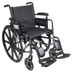 Drive Cirrus IV Lightweight Dual Axle Wheelchair with Adjustable Arms