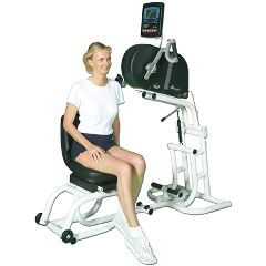 Endorphin Ube - 380-E4 Ergometer With Multi-Positional Grip,  Adjustable Platform And Detachable Swivel Seat