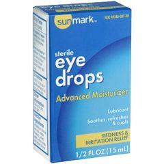 Sunmark Lubricant Eye Drops