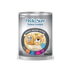 Pediasure Enteral Formula 1.0 Cal  - Vanilla - 8 ounce cans
