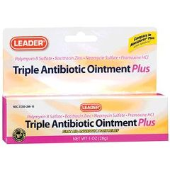 Cardinal Health Leader Triple Antibiotic Ointment Plus
