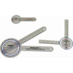 Baseline HiRes 360 Degree Clear Plastic Goniometer