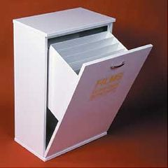 AliMed Floor Standing Bin Bin w/Light Cut-off