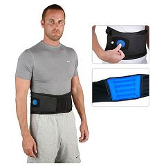 Airform Inflatable Back Support with Gel