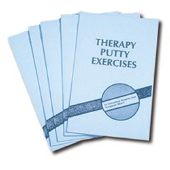 AliMed Therapy Putty Exercise Booklets