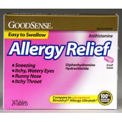 GoodSense Allergy Relief Tablet