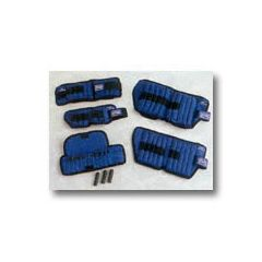 Sammons Preston All Pro Adjustable Therapeutic Ankle Weights - 5 lb. (2.27 kg) = 10, 1/2-lb. wts.