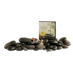 Anesi Deluxe Hot Stone Set With Chakra and DVD