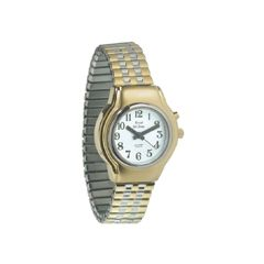 Ladies Royal Tel-Time One Button Talking Watch w/Expansion Band