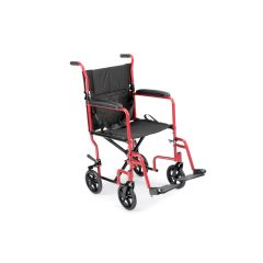 "ProBasics 19"" Lightweight Aluminum Transport Wheelchair"