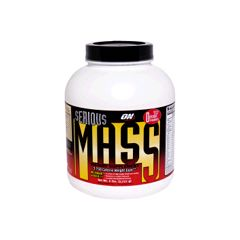 Optimum Nutrition Serious Mass, Delicious Strawberry - 6 lbs (2726 g)