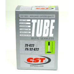 """New Solutions High Pressure Inner Tube - 28"""" x 1 1/8"""""""