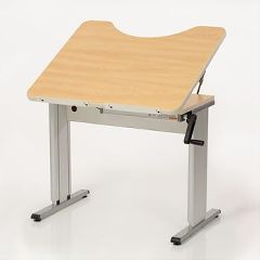Sammons Preston Personal Work Table with Tilt Top and Recess