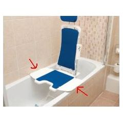 Drive Side Flap for Bellavita Auto Bath Lifter - Accessories