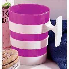 Sammons Preston Plastic-Handle Mug