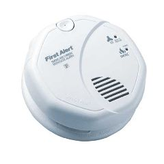 Harris Communications Hardwired Smoke-CO Detector with Battery Backup