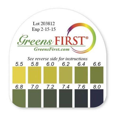 Greens First Ph Test Kit Model 465 0205