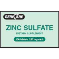 GSMS Zinc Sulfate Tabs - 220 mg