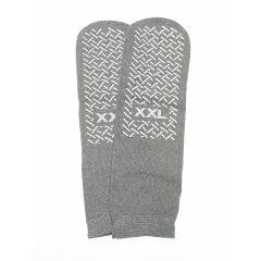 Safety Skids Slippers Single Tread , Gray , XXL