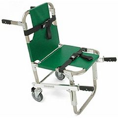 "Complete Medical Supplies Evacuation Chair w/5"" Wheels and Front & Back Handles"