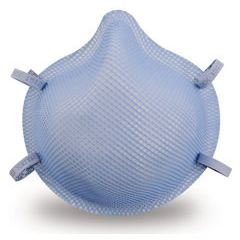 Moldex-Metric 1500 N95 Particulate Respirator Surgical Mask with Ear Loops.