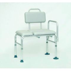 Invacare Supply Group Padded Transfer Bench with Suction Cups