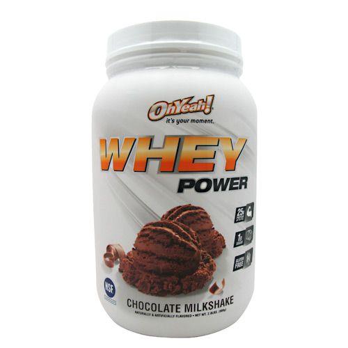 Oh Yeah! ISS Oh Yeah! Whey Power - Chocolate Milkshake Model 171 584299 01