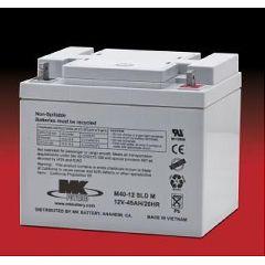 MK Battery MK 12 Volt - 45 AMP Sealed Light Duty AGM Batteries