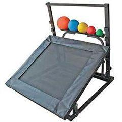 Ideal Medical Products Adjustable Rebounder Set W/Handle - Incl Rack & Ba