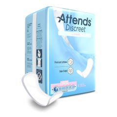Attends Discreet Adult Disposable Bladder Control Pad Light Absorbency