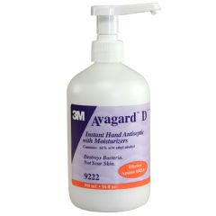 Avagard 3M Avagard D Instant Hand Antiseptic with Moisturizers - 16 oz pump