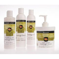 Lotus Touch New Lotus Touch Organic Naturals  Massage Kit