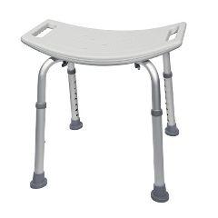 McKesson Aluminum Bath Bench Without Back