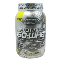 Essential Series MuscleTech Essential Series 100% Platinum Iso-Whey - Vanilla Ice Cream