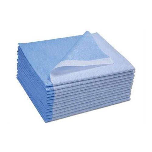 "ScripHessco Disposable Drape Sheets, Blue, 40""x90"" - 50/Case Model 770 1013"