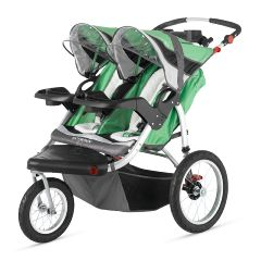Schwinn Turismo Swivel Wheel Jogging Stroller - Double