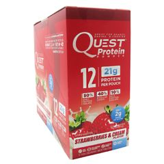 Quest Nutrition Quest Protein Powder - Strawberries & Cream