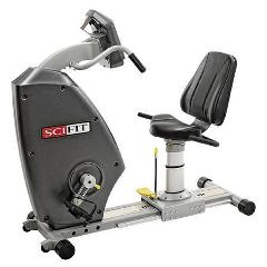 SCIFIT PRO Upper Body with Adjustable Cranks, Fixed Bariatric Seat, & Wheelchair Platform