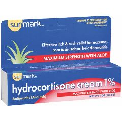 Hydrocortisone Cream USP - 1% - 30gm/ 1 oz. tube