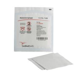 "Cardinal Health Non-Woven All-Purpose Sponges 4"" x 4"""