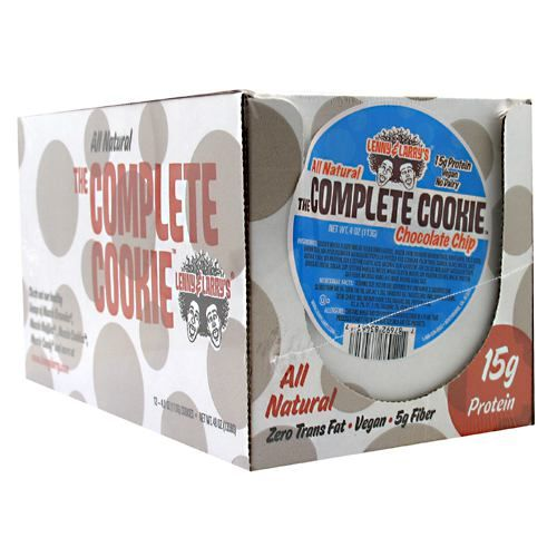 Lenny & Larry's All-Natural Complete Cookie - Chocolate Chip Model 171 583891 01 Pack of 12